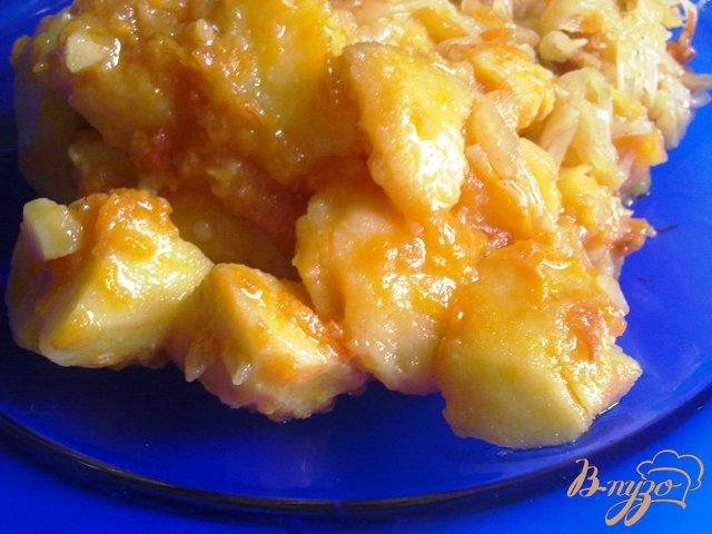 Фото приготовление рецепта: Овощное жаркое шаг №12
