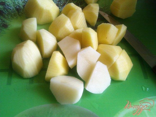 Фото приготовление рецепта: Овощное жаркое шаг №5