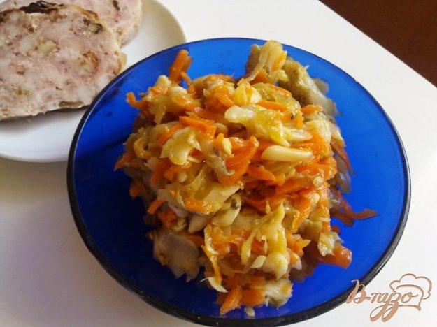 Рецепт Салат из рыбы с овощами