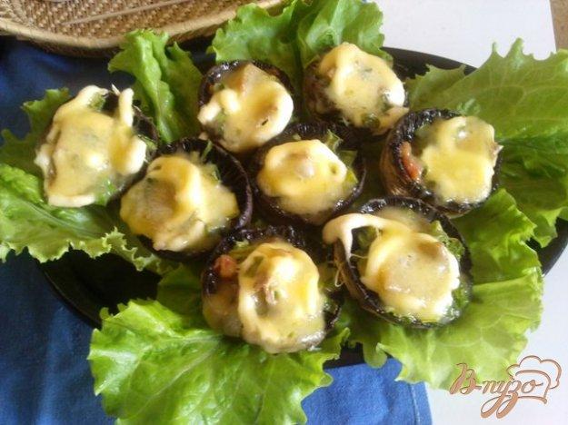 фото рецепта: Сырные шампиньоны