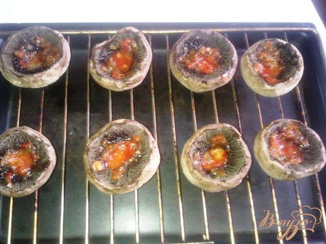 Фото приготовление рецепта: Сырные шампиньоны шаг №1