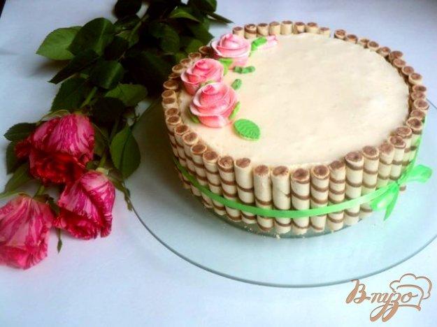 Рецепт Легкий торт «Нежность»