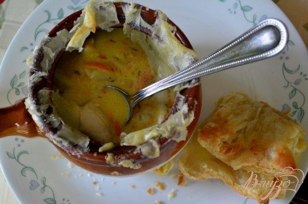 фото рецепта: Куриный пирог в горшочках