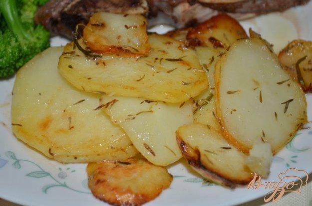 фото рецепта: Картофель в сливочном масле
