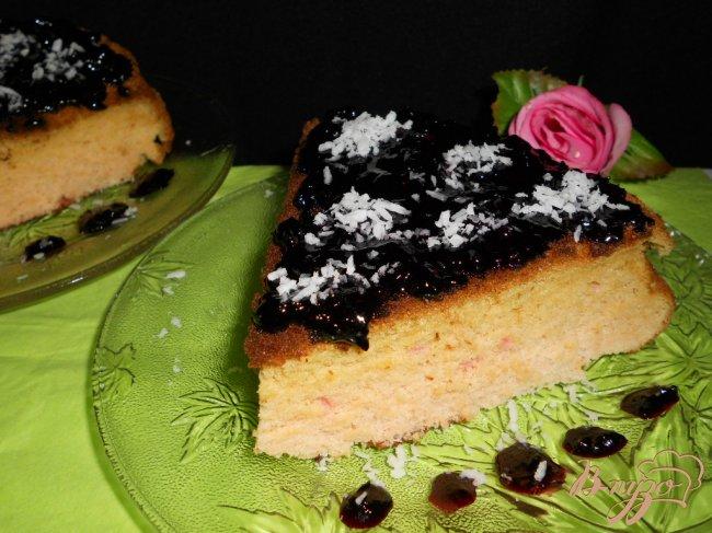 Фото приготовление рецепта: Пирог из киселя шаг №7