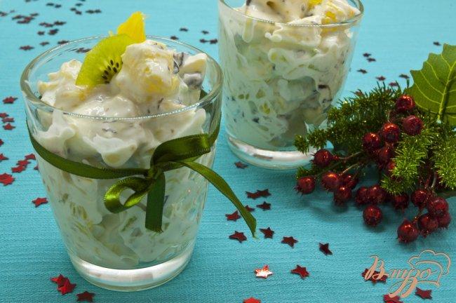 Фото приготовление рецепта: Салат из фруктов шаг №6