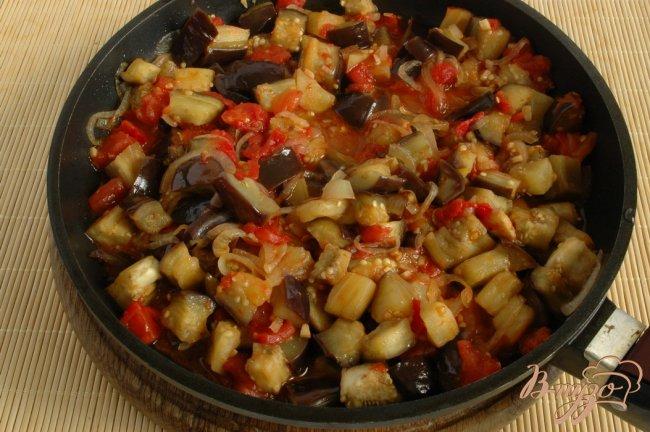Фото приготовление рецепта: Пенне с овощами шаг №6