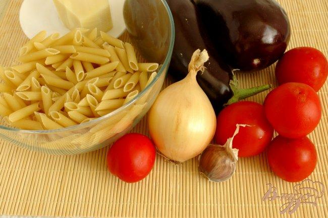 Фото приготовление рецепта: Пенне с овощами шаг №1