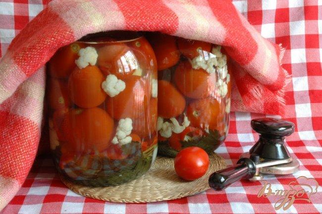 Фото приготовление рецепта: Овощи маринованные шаг №8