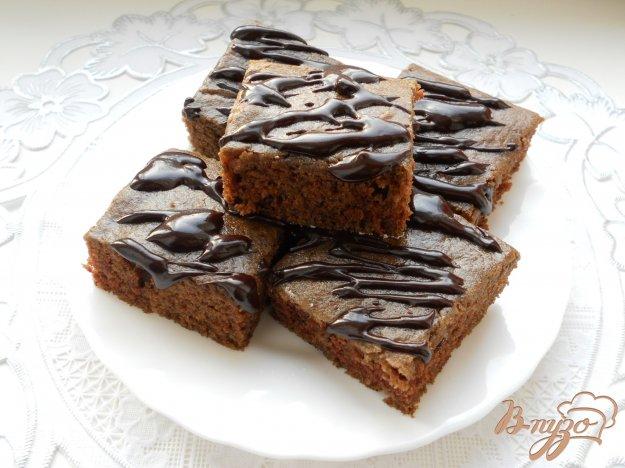 Рецепт Шоколадный манник (постный)