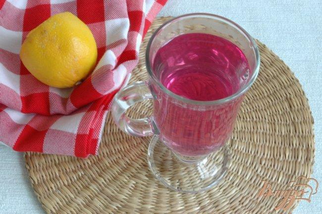 Фото приготовление рецепта: Напиток из базилика шаг №5