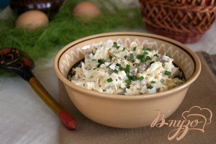 фото рецепта: Салат с мясом и редькой
