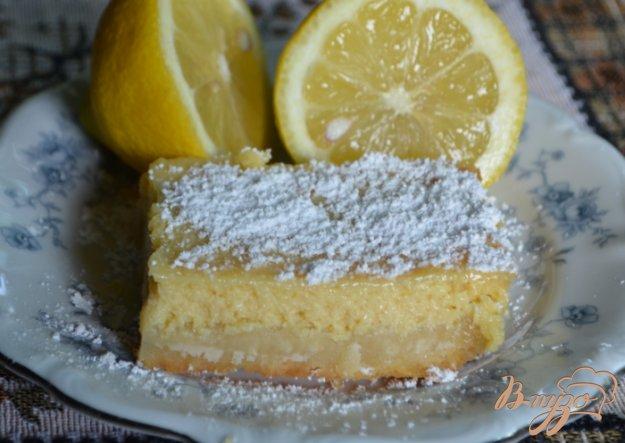 Рецепт Кремовые лимонные квадратики