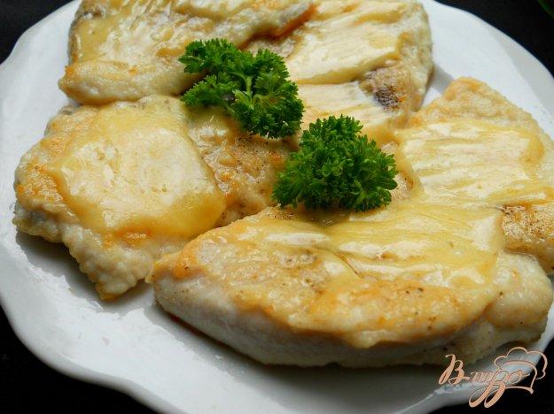 Рецепт Куриные отбивные под сыром