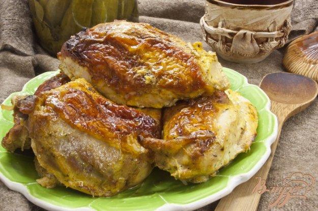 Рецепт Запеченая курица, маринованная в кефире