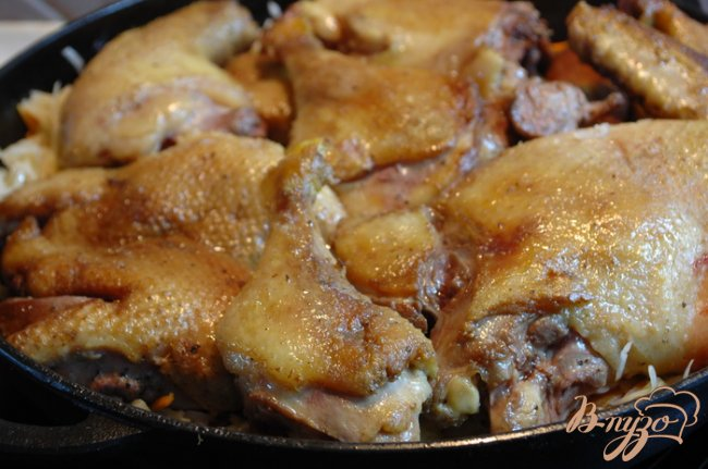 рецепт утки в духовке в жаровне