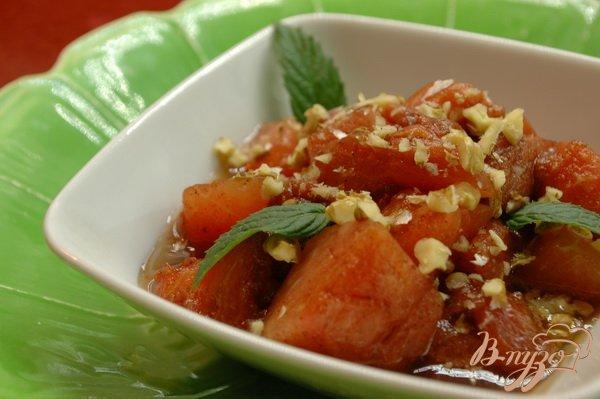 Рецепт Арбуз в сиропе с корицей