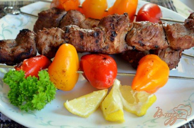Рецепт Свиной кебаб со сладким перцем