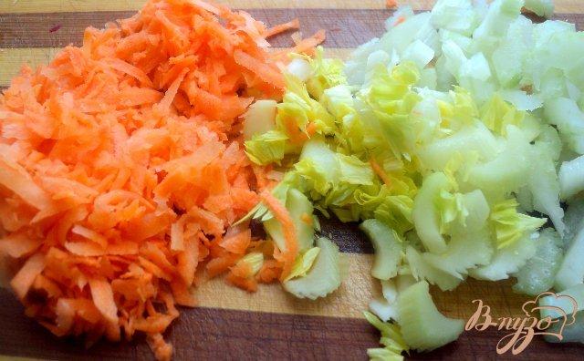 Фото приготовление рецепта: Салат  молодости и красоты. шаг №2