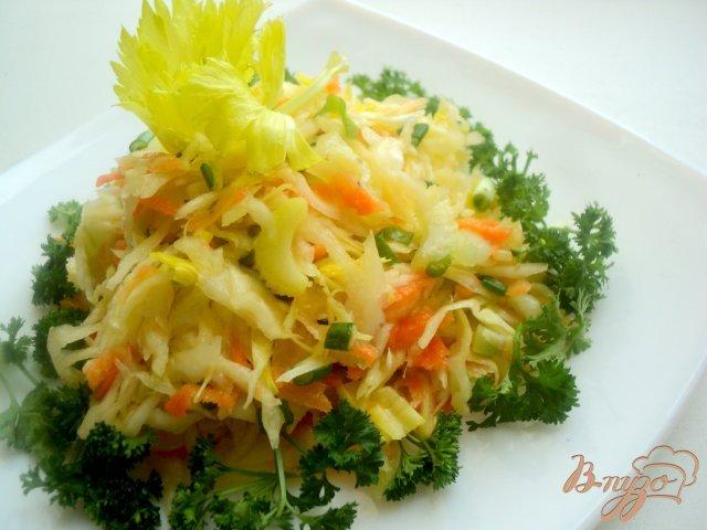 Фото приготовление рецепта: Салат  молодости и красоты. шаг №5