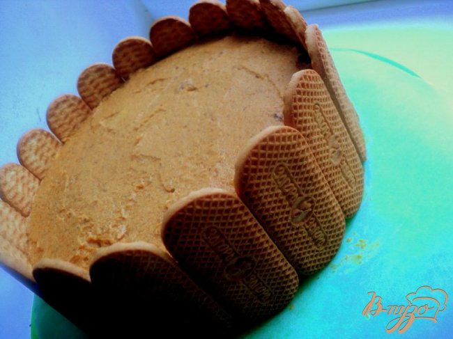 Фото приготовление рецепта: Торт «Три веселых поросенка» шаг №14