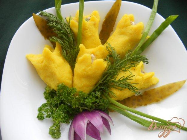 Рецепт Закуска «Желтые тюльпаны»