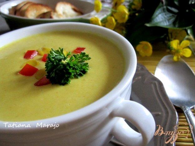 фото рецепта: Кукурузный  крем-суп