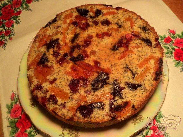 фото рецепта: Кукурузный пирог с маком