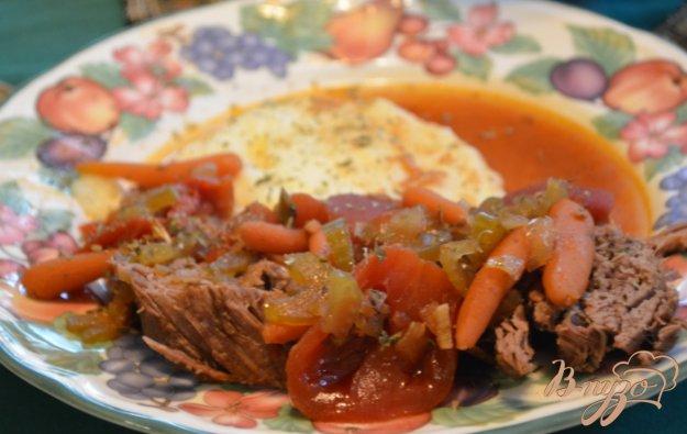 фото рецепта: Тушеная говядина по-итальянски