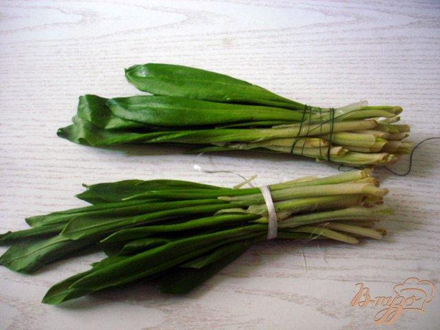 Фото приготовление рецепта: Салат из черемши шаг №1