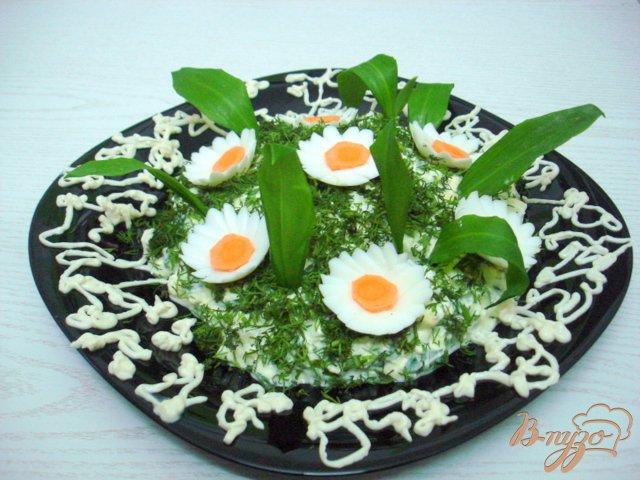 Фото приготовление рецепта: Салат из черемши шаг №5