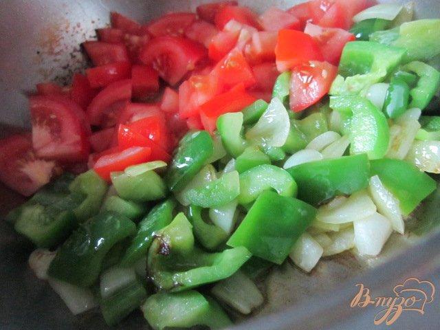 Фото приготовление рецепта: Баклажановый суп-пюре шаг №5