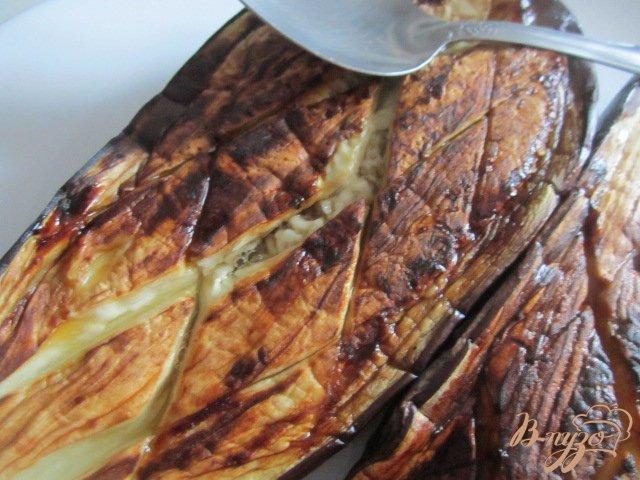 Фото приготовление рецепта: Баклажановый суп-пюре шаг №2