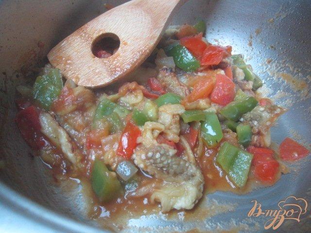 Фото приготовление рецепта: Баклажановый суп-пюре шаг №6