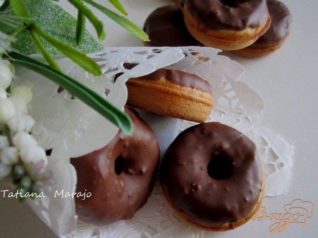 Рецепт Пончики с молочным шоколадом