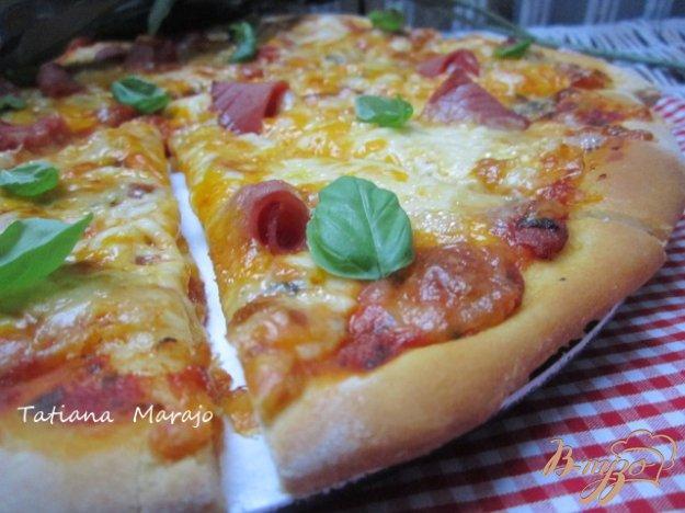 фото рецепта: Сырная пицца