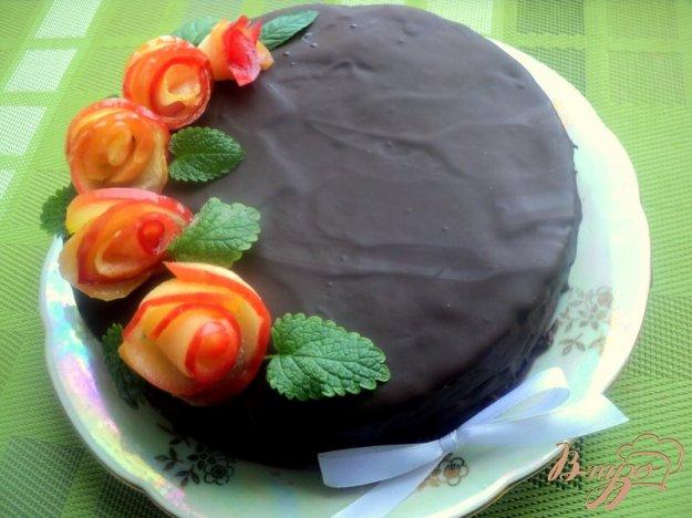 фото рецепта: Постный шоколадный торт «Именинный»