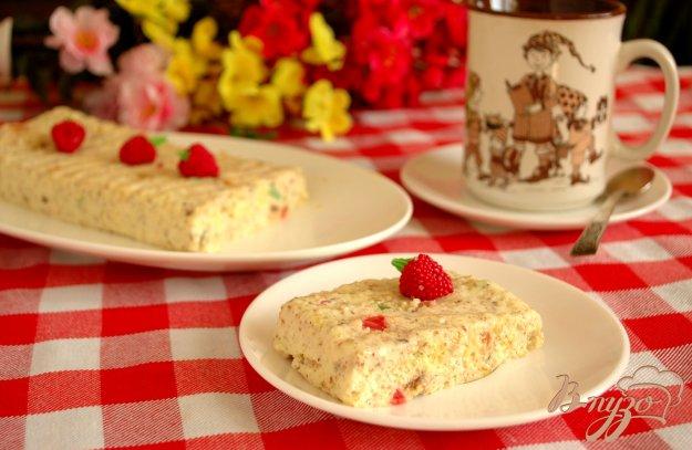 Рецепт Пудинг из сливок и бисквита