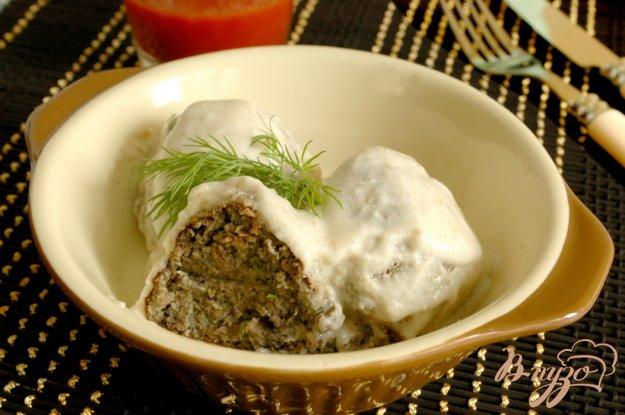 Рецепт Грибные крокеты в сметанном соусе