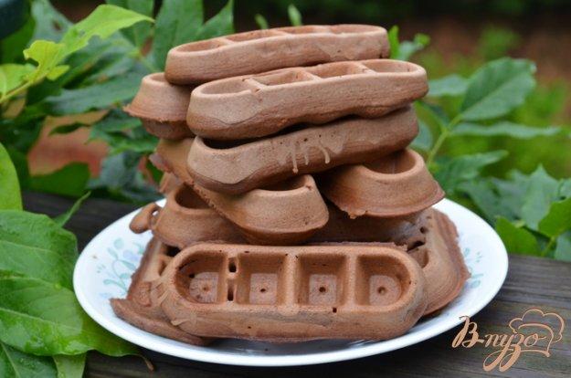 Рецепт Шоколадные вафли