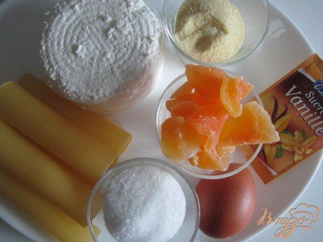 Фото приготовление рецепта: Каннеллони с творожной начинкой шаг №1