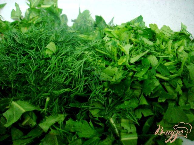 Фото приготовление рецепта: Салат из одуванчиков шаг №3
