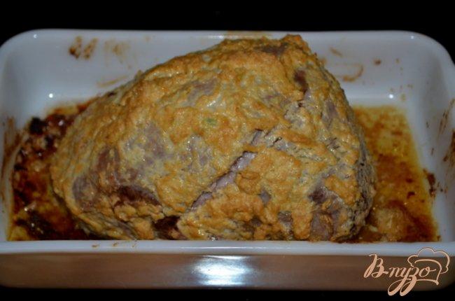 Фото приготовление рецепта: Ростбиф с горчицей шаг №3