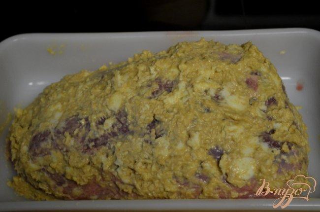 Фото приготовление рецепта: Ростбиф с горчицей шаг №2