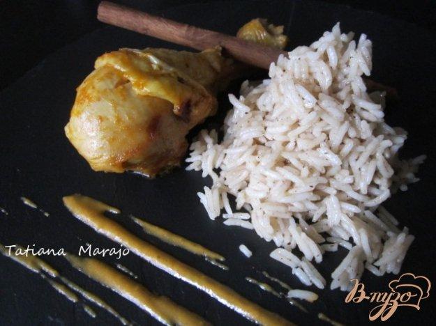 Рецепт Куриные ножки с пряным рисом
