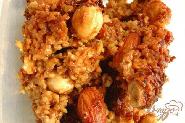 Рецепт Гранола ореховая