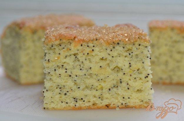 Рецепт Простой лимонно-маковый кекс