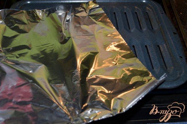 Фото приготовление рецепта: Риблет свиной с медовой глазурью шаг №1