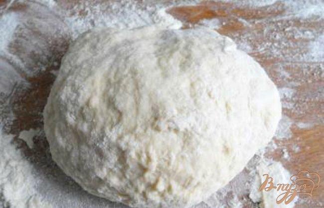 Фото приготовление рецепта: Чебуреки с мясом на молоке и сыворотке шаг №2