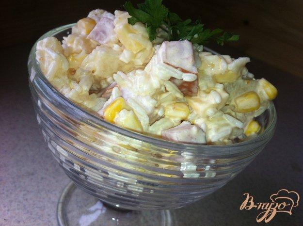 Рецепт Вкусный салат «Сытный»